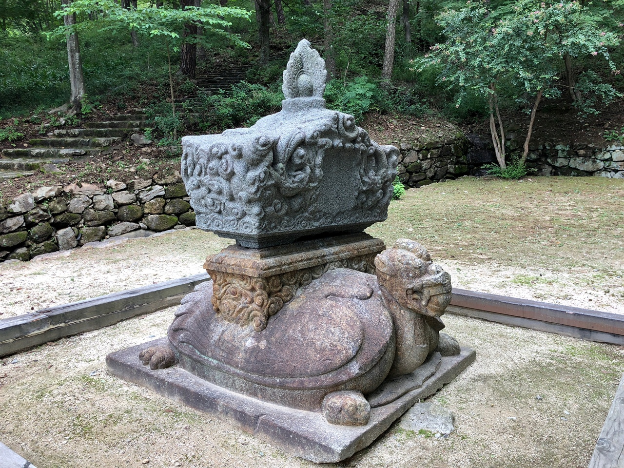 지리산 연곡사 보물 제153호 동승탑비