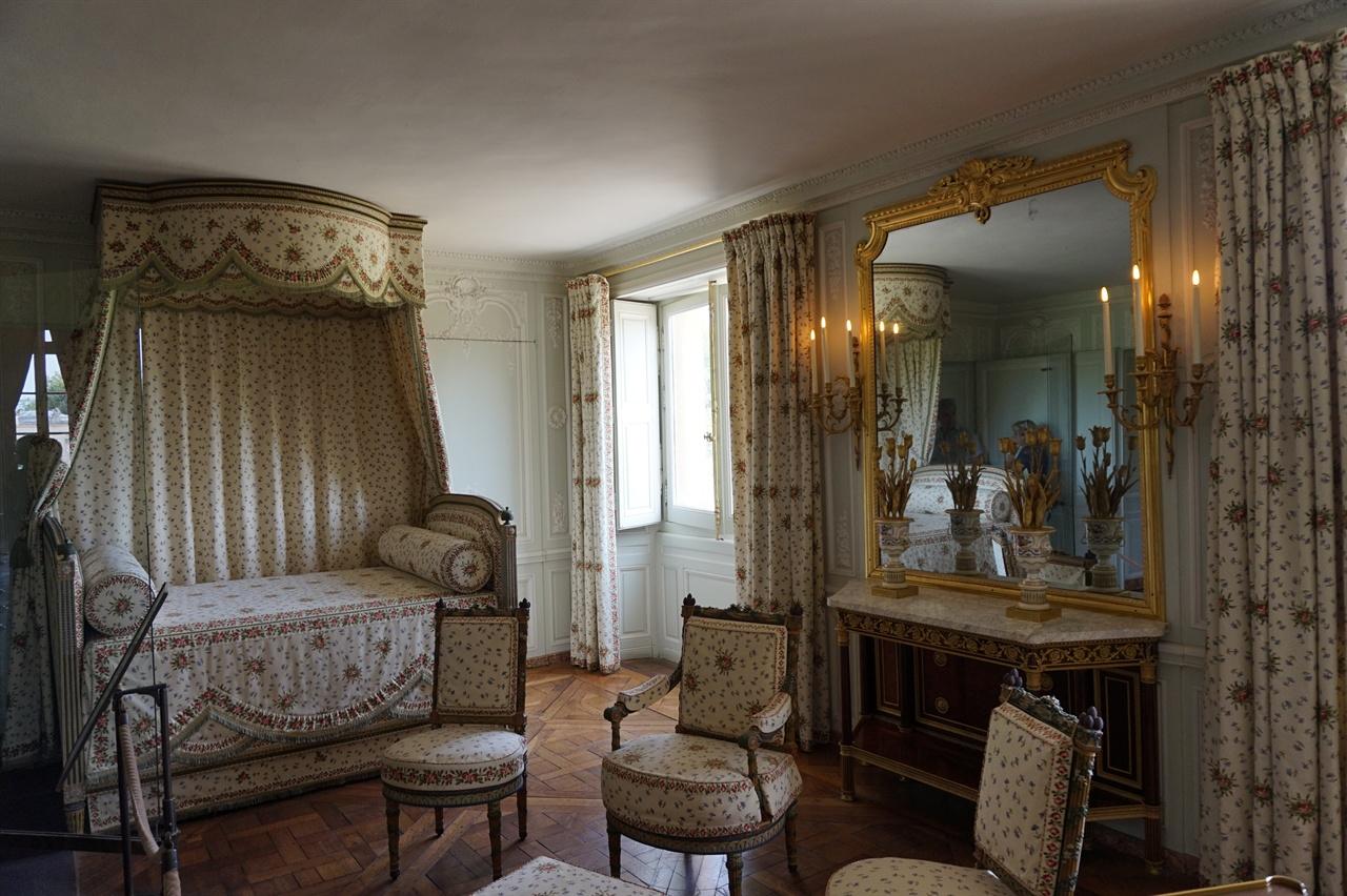프티 트리아농에 있는 마리 앙투아네트의 침실