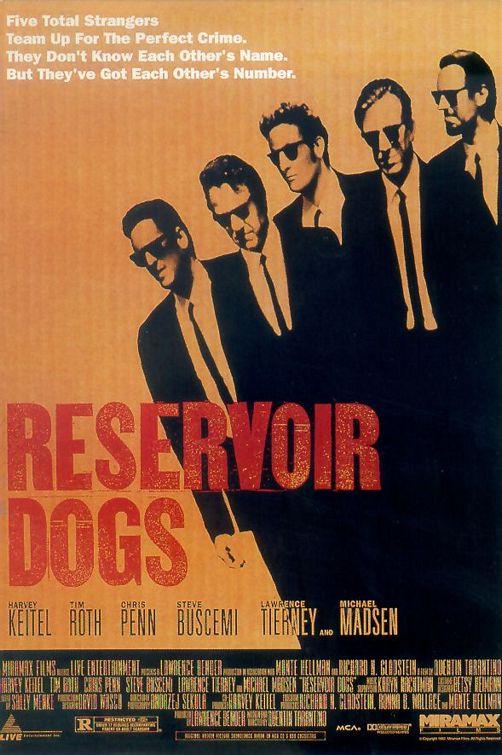 <저수지의 개들> 영화 포스터