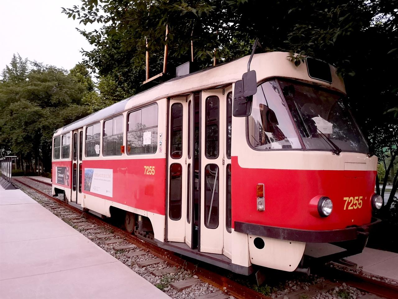체코의 트램 체코에서 실제 운행하였던 트램
