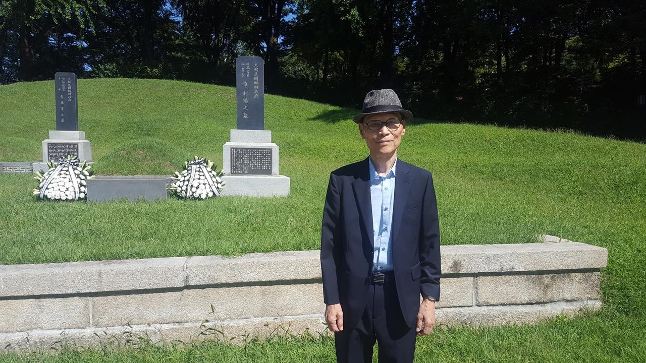 독립운동가 동암 차리석 선생의 외아들인 차영조씨
