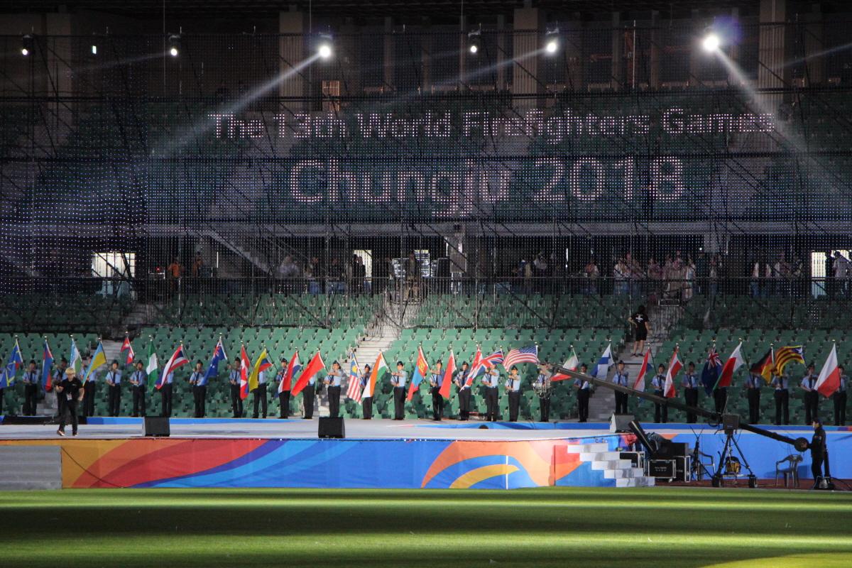 제13회 세계소방관경기대회 개막식