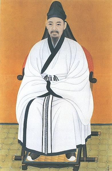 친일화가의 대부 김은호에 의해 그려진 율곡 이이의 표준영정