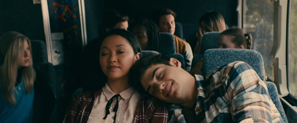 넷플릭스 영화 <내가 사랑했던 모든 남자들에게>의 한 장면.