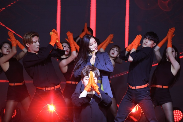 효민 효민이 솔로 디지털 싱글 'MANGO(망고)'를 발표하고 컴백했다.