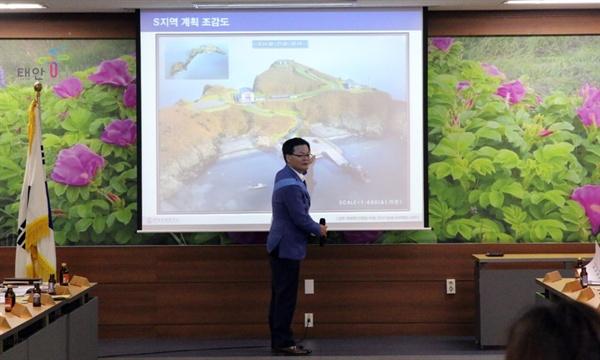 12일 국방과학연구소는 석도-만재도에 탄도탄 요격용 유도무기 비행시험용 신규 시험장 설명회를 충남 태안 이장단 대상으로 열었다.
