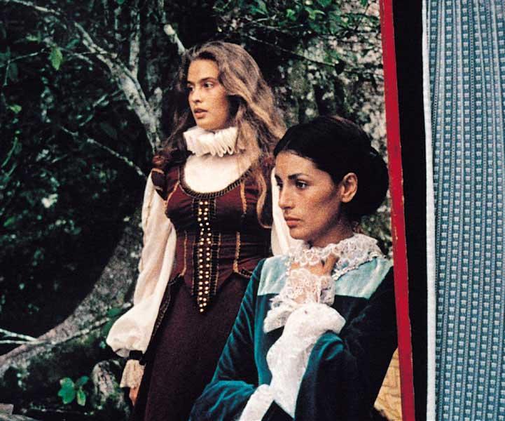 영화 속 여성의 모습