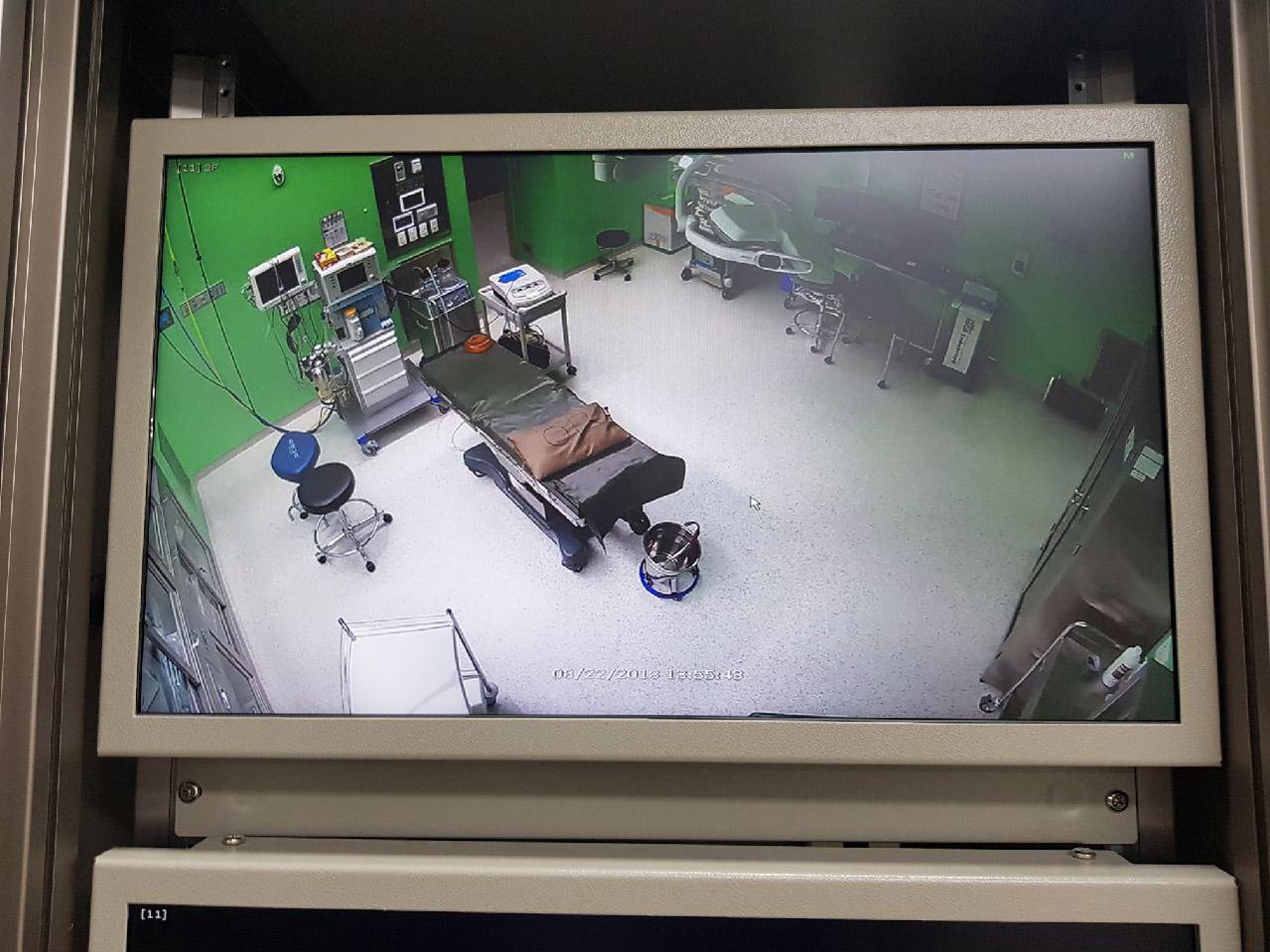통제실 CCTV녹화장치