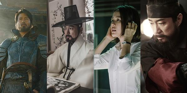 <안시성> <명당> <협상> <물괴>의 주연 배우