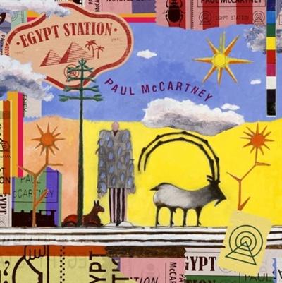 신보 < Egypt Station >으로 돌아온 폴 매카트니. 커버의 일러스트는 그가 직접 그렸다