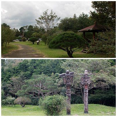 경주 산림환경연구원 내부 무궁화 동산 모습