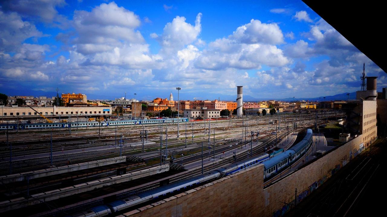 테르미니 기차역 로마의 중앙 철도역