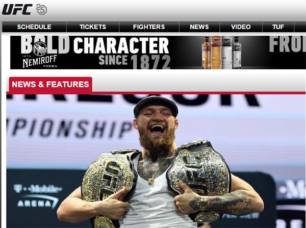 UFC 최초의 두 체급 동시 타이틀 보유자였던 맥그리거는 현재 타이틀을 모두 박탈당하고 무관인 상황이다.