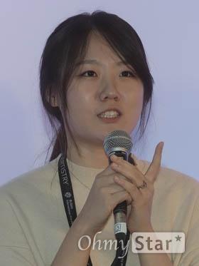<디어 마이 지니어스> 구윤주 감독.