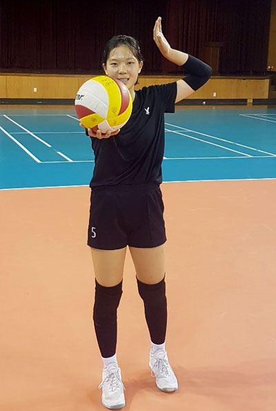 이민서 선수(177cm, 대구일중 2학년)