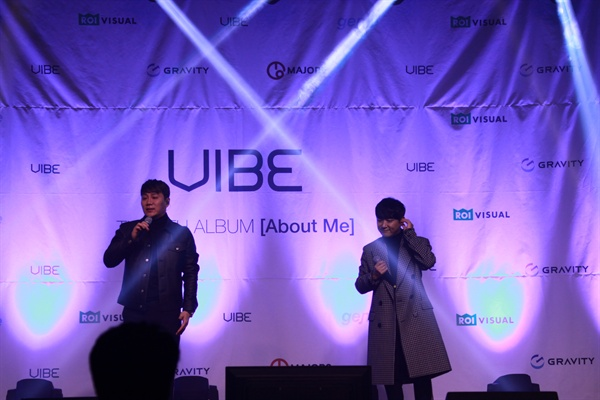 바이브 바이브(윤민수, 류재현)가 약 2년 만에 8번째 정규앨범 < About Me >를 발매했다.