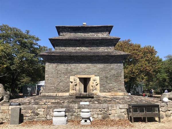 경주 분황사 모전석탑 경주에서 가장 오래된 석탑