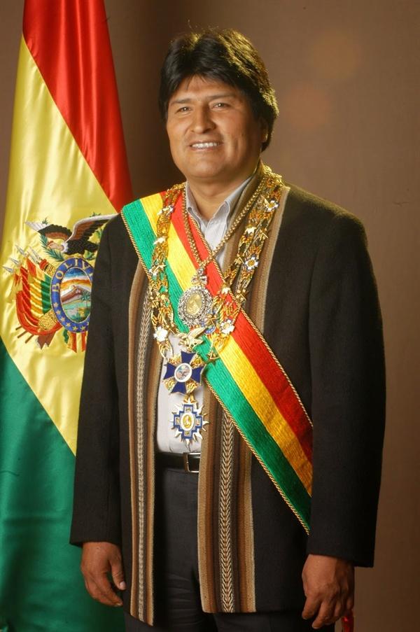 볼리비아 대통령: 에보 모랄레스 아이마