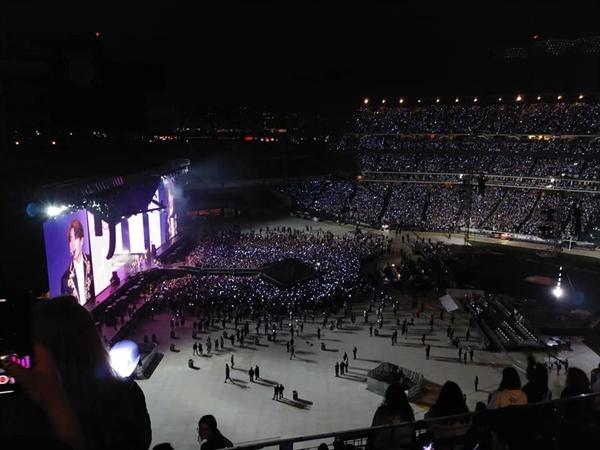 4만5000명 관객이 들어찬 뉴욕 시티필트 경기장.