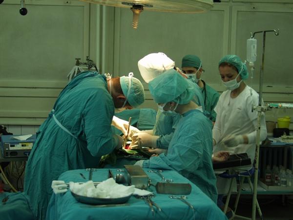 수술실의 모습