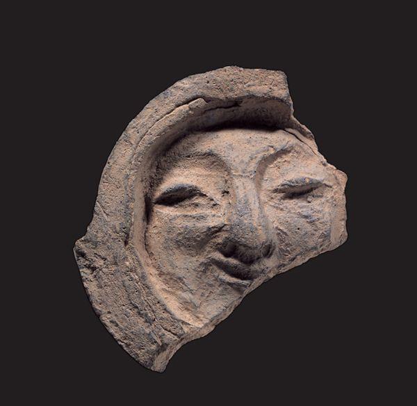 경주 얼굴무늬 수막새, 문화재청 제공