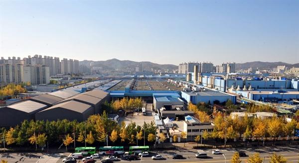 한국지엠 부평공장 전경 ⓒ 인천뉴스
