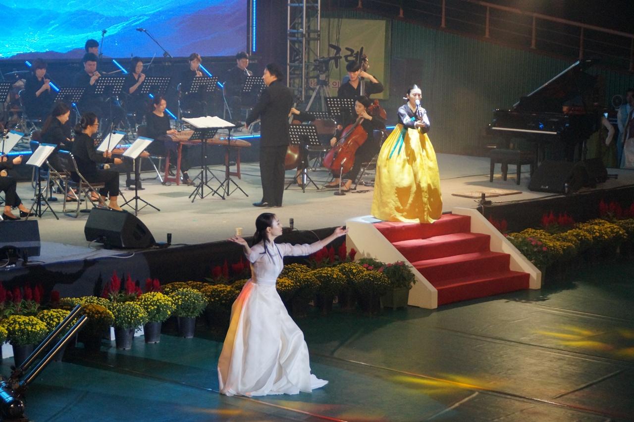 구례동편소리축제 개막공연 - '쑥대머리' 소리와 춤