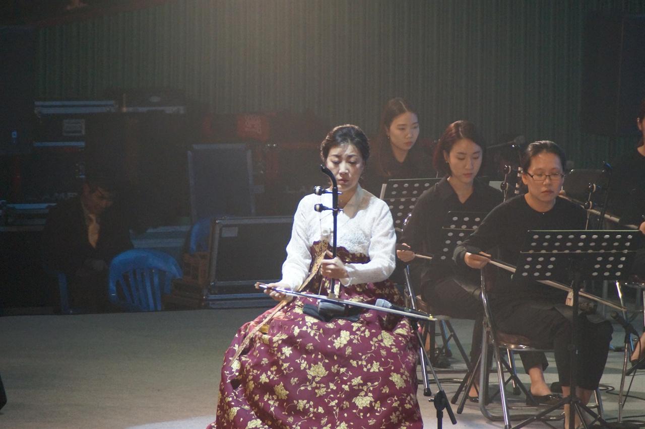 구례동편소리축제 개막공연 - 해금 협연곡 '독백'