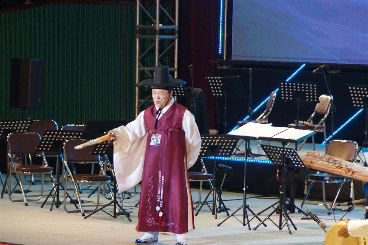 구례동편소리축제 개막공연 : 조통달 - '판소리 수궁가'
