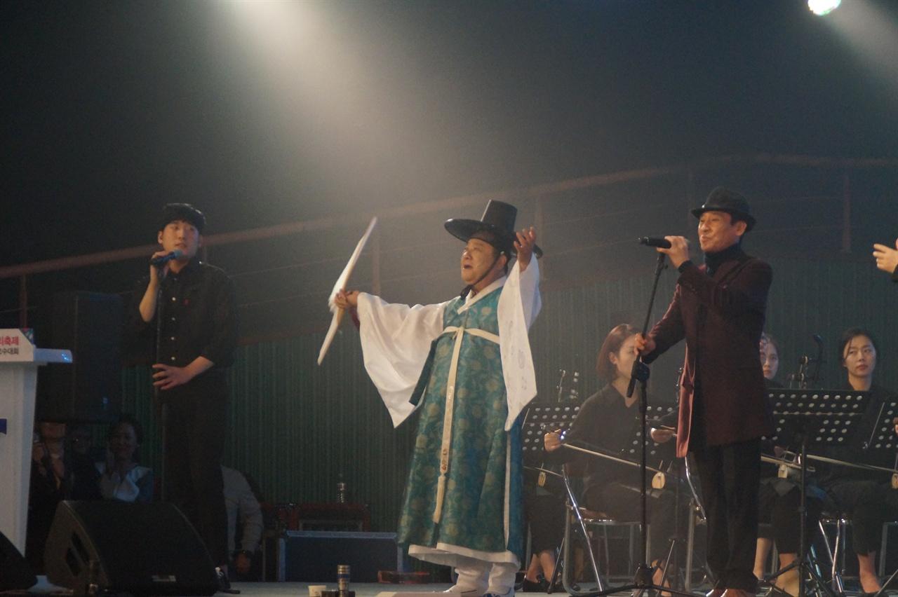 구례동편소리축제 개막공연 : 조통달,조관우,조휘,조현 - 엄마야 누나야