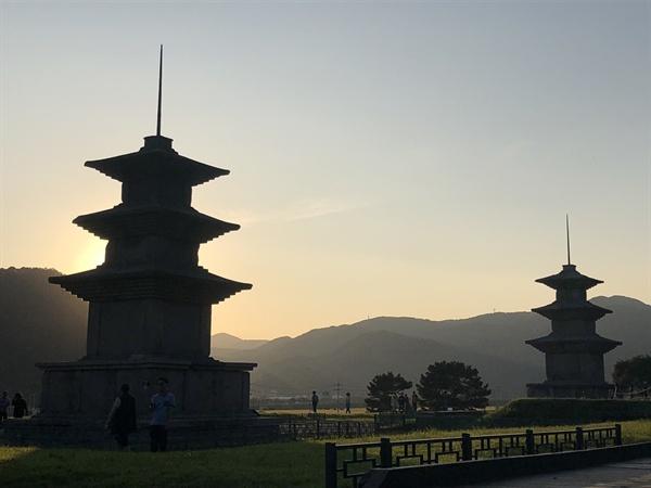 감은사지 석탑