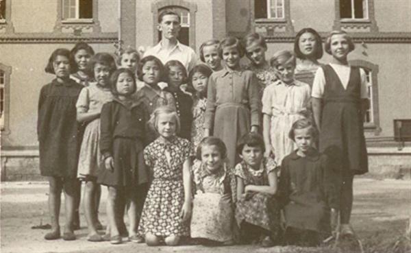 영화 <폴란드로 간 아이들> 스틸 사진.