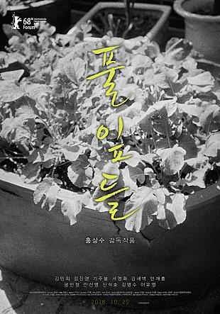 영화 <풀잎들> 포스터
