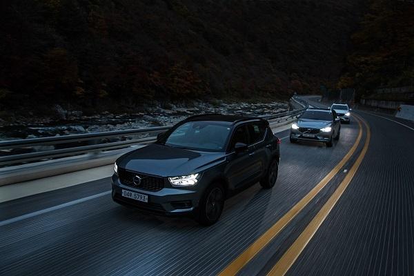 지난 23일 볼보자동차코리아가 강원도 정선 일대에서 기자단 대상으로 XC 레인지 시승행사를 진행했다.