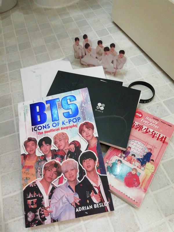 로즈의 BTS 기념 소장품