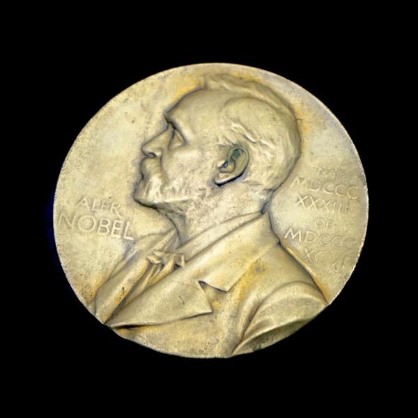 노벨상 메달 노벨상 수상자에게 수여되는 메달. 제작비용은 700만 원 정도이지만, 10억 원이 넘는 상금도 별도로 수여된다. 전세계 과학자들에게 노벨상을 받는다는 것은 수치로 측량하기 어려운 커다란 영예다.