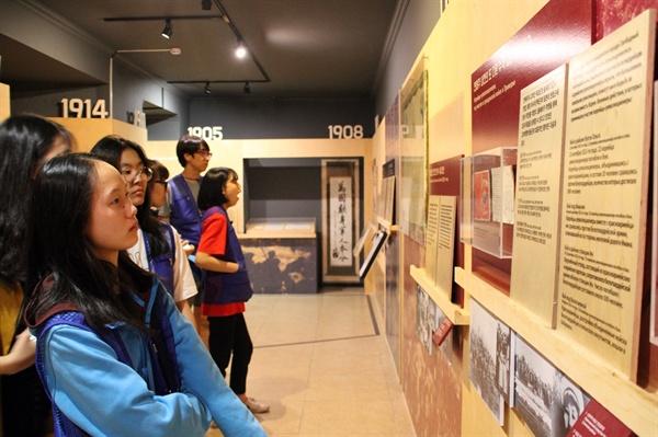 우수리스크 고려인문화센터  2018년 8월 5일 2018 창의융합형 인문학 기행단이 고려인문화센터를 방문하였다.