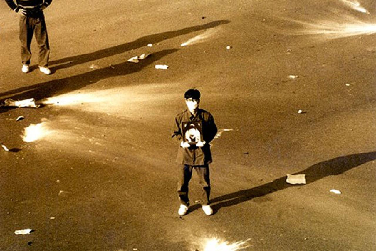 영화 <1991, 봄> 한 장면