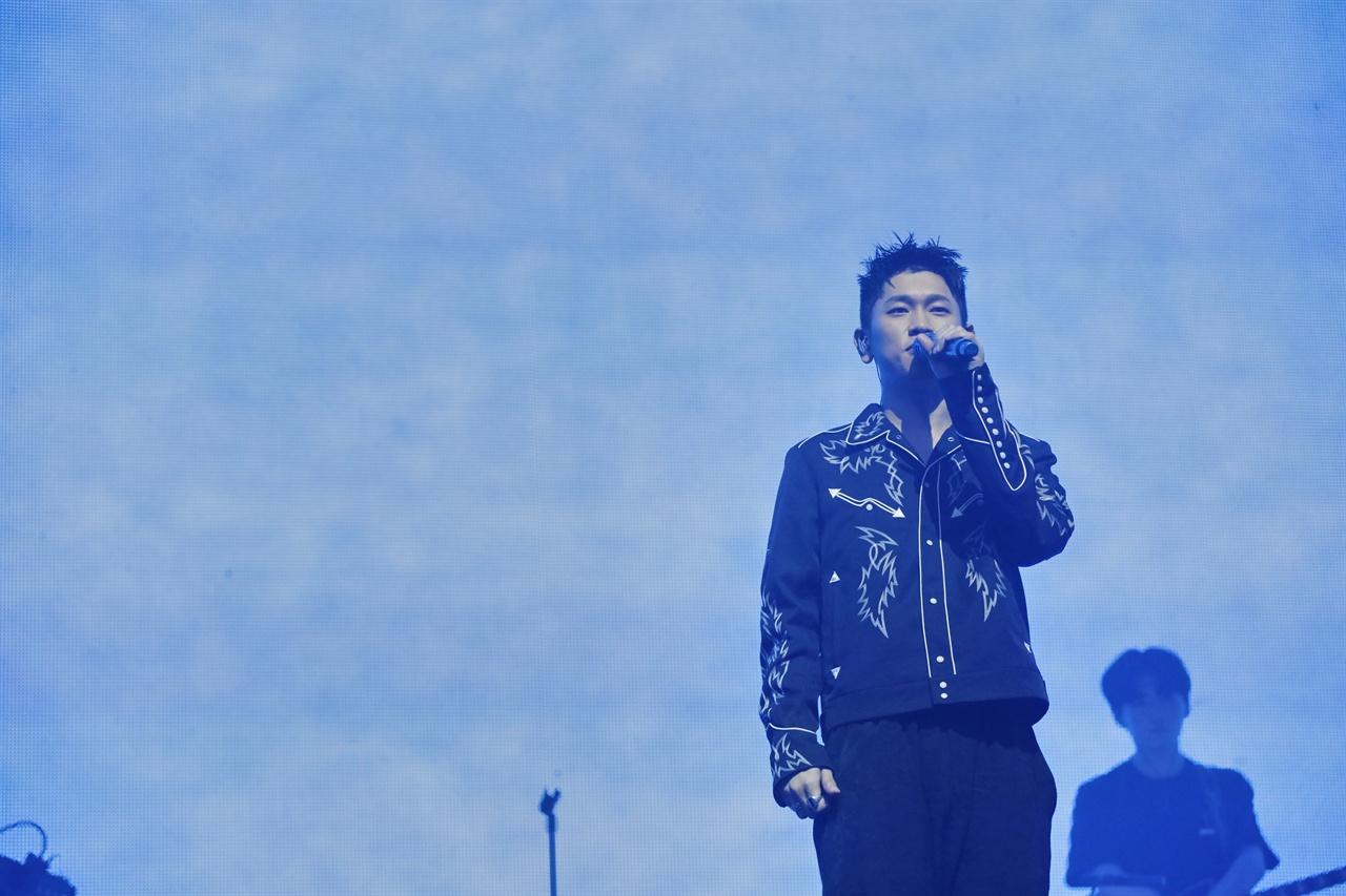크러쉬의 단독 콘서트 'Wonderlost'
