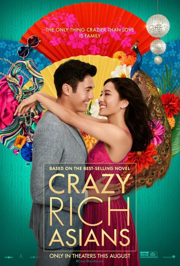 미국 박스오피스 3주 연속 1위를 차지한 영화 <크레이지 리치 아시안>의 포스터