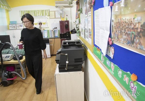 """사립유치원 설립자의 비리를 고발한 임미화 예원유치원장은 """"협동조합은 의사결정의 모든 과정이 투명하게 드러나므로 비리 문제가 사전에 차단되고 동시에 설립에 별다른 비용이 들지도 않는다""""면서 """"무엇보다도 현재 다니고 있는 유치원의 학부모와 교사들이 뭉치는 것이어서 교육공동체가 보전된다""""고 설명했다."""