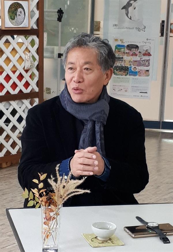 6일 광덕산환경교육센터에서 우치다 타츠루 교수를 인터뷰했다.