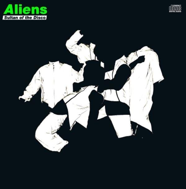 두 번째 정규 음반 <Aliens>의 음반커버.