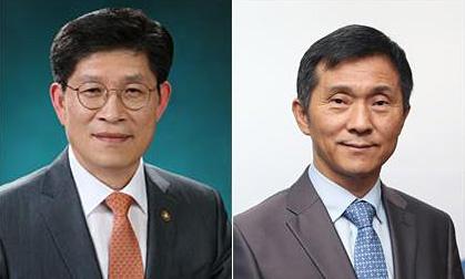 (왼쪽) 노형욱 신임 국무조정실장과 김연명 신임 사회수석.