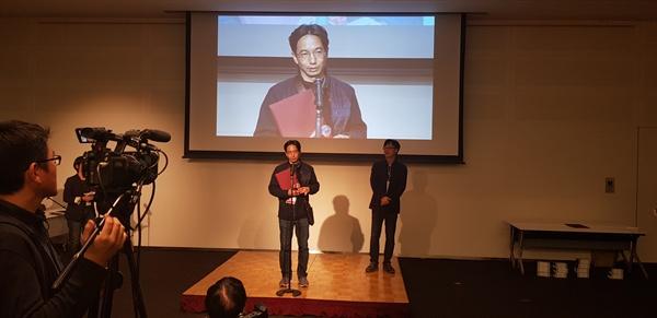 일본 도쿄독스 국제다큐멘터리 피칭포럼에서 < 블랙하모니 >가 최우수 기획으로 선정됐다.