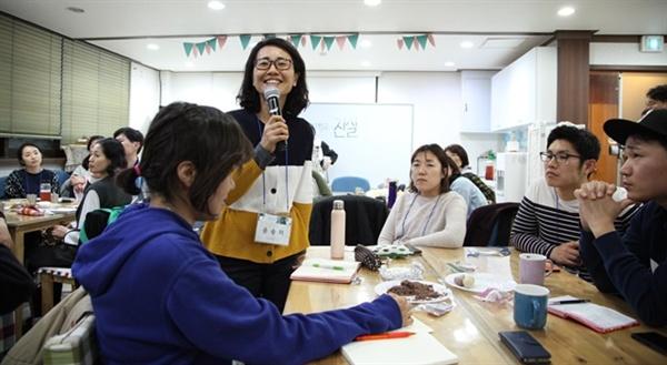 참석자들은 자료를 찾아보고, 모둠 토론을 하며 김부선 씨의 주장이 설득력이 없다는 걸 느꼈다.