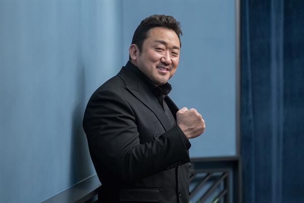 배우 마동석.