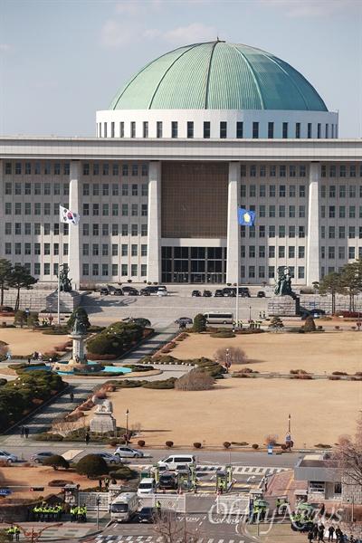 여의도 국회의사당.