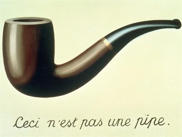 르네 마그리트, <이것은 파이프가 아니다>