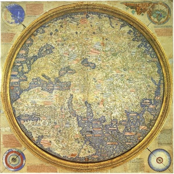 Fra Mauro map 1450년경 제작